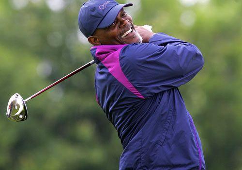 Самюъл Л. Джаксън също е запален голфър.