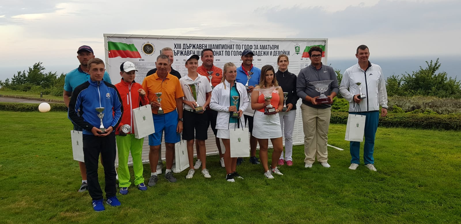Влади Маринов е новия стар шампион на България по голф.
