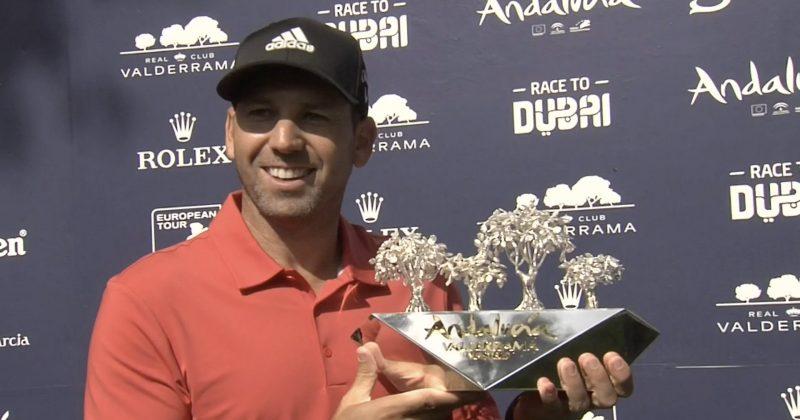 Серхио Гарсия – Домакин и Победител в Андалусия Валдерама Мастърс 2018.